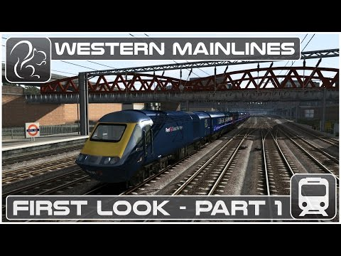 Western Mainlines - First Look Part #1 (Train Simulator 2016)