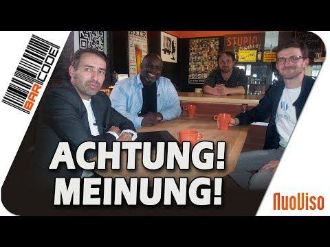 Achtung! Meinung! - #BarCode mit Serge Menga, Sven Liebich & Felix Herrmann