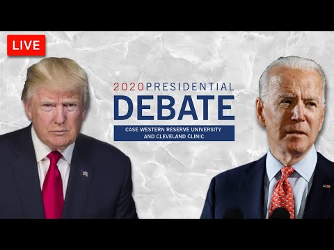🔴WATCH LIVE: 2020 Presidential Debate LIVE Coverage- Trump vs. Biden First Debate