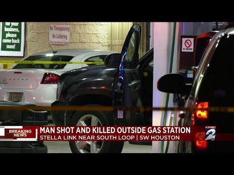 Man shot and killed outside of gas station in SW Houston