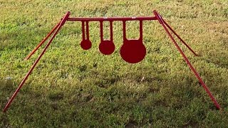 Rztargets Ar500 Swinging 3 Plate Rack