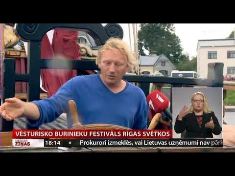 Vēsturisko burinieku festivāls Rīgas svētkos