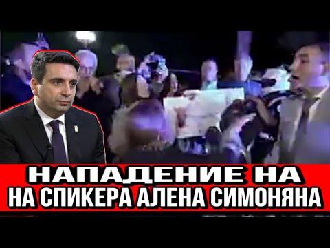 Армяне Кипра напали на спикера Алена Симоняна