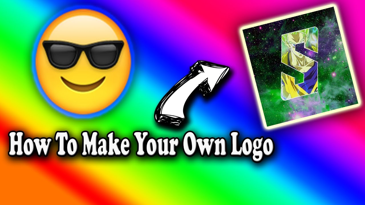 How to make your own logo for free using youtube for Draw your own logo free