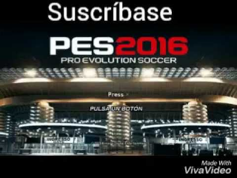 PES 2016 liga mx para ppsspp