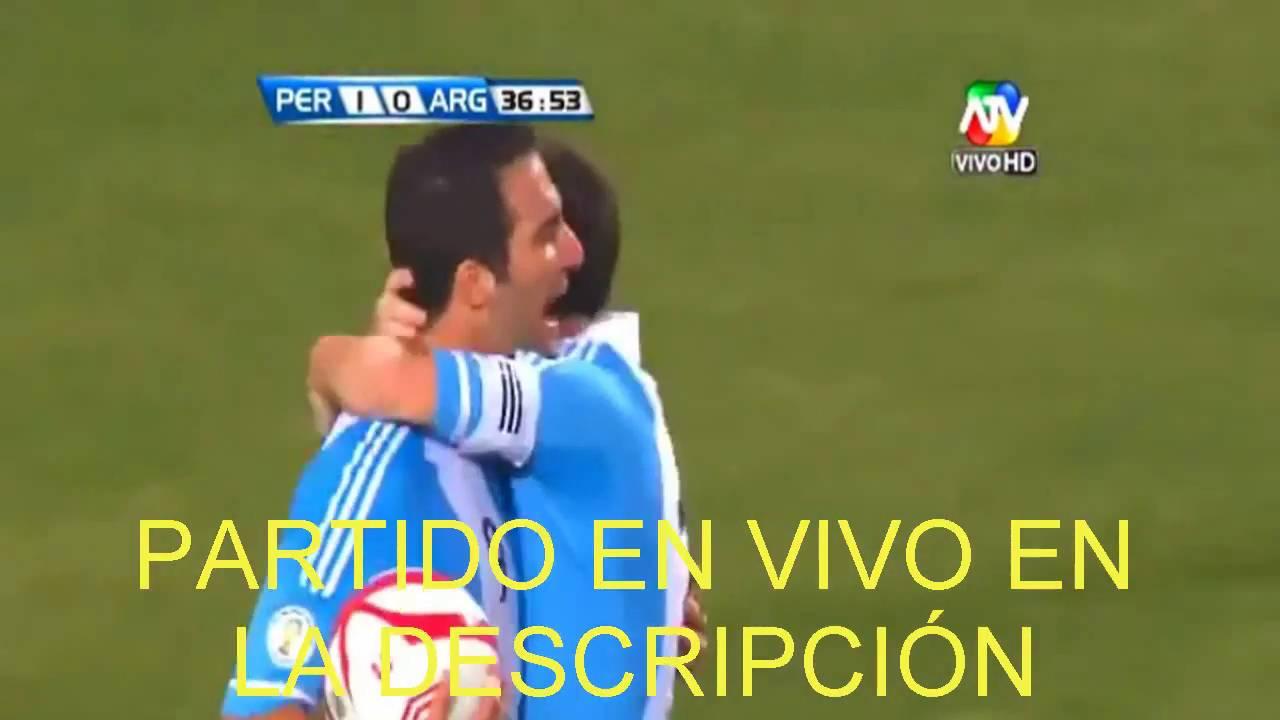 Ver partido peru vs argentina en vivo hoy 06 10 2016 Ver espejo publico de hoy