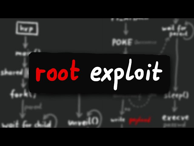 Kernel Root Exploit via a ptrace() and execve() Race Condition