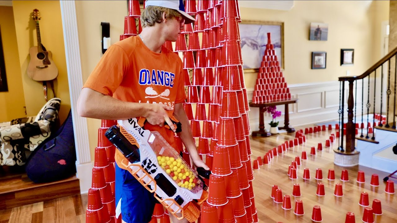 Nerf War: House of Cups 4