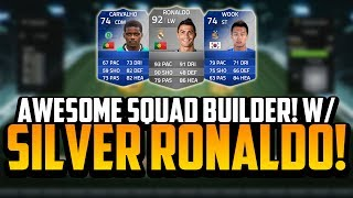 AWESOME SQUAD BUILDER! w/ THE SILVER RONALDO! | FIFA 14 Ultimate Team