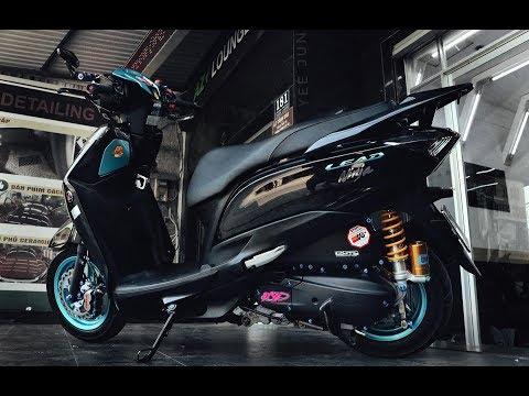 Honda Lead phiên bản 'vua ninja' của biker Cà Mau tốn thêm 100 triệu_Xe 360