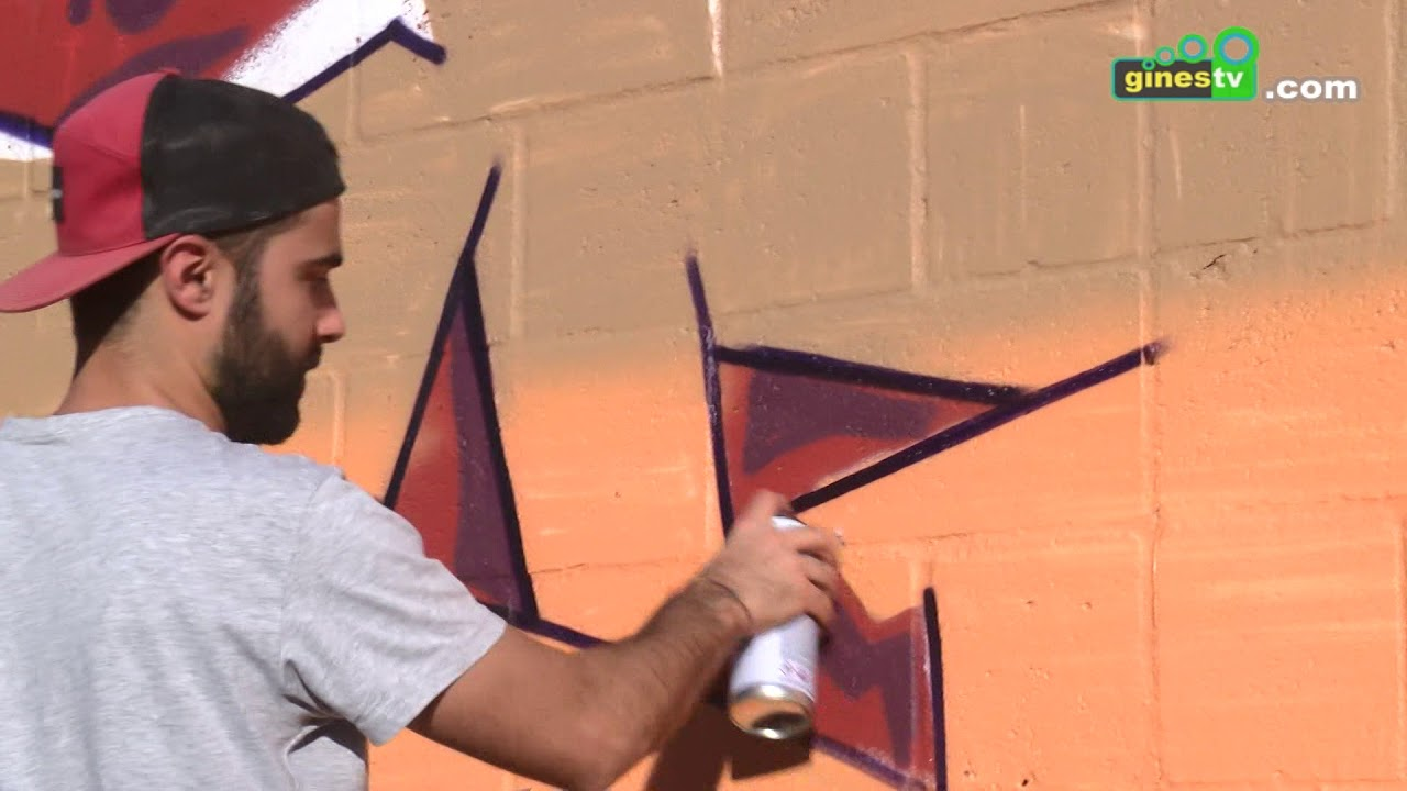 120 grafiteros participan este fin de semana en Gines en el homenaje a 'Bece'