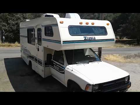 1992 Toyota Itasca Spirit Winnebago Rv Ebay Auction Youtube