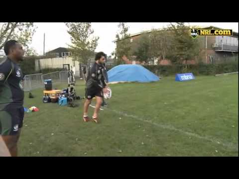 Australian National Rugby League Team - Trick Shots