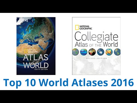 10 Best World Atlases 2016