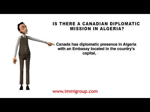 Is There A Canadian Diplomatic Mission In Algeria?