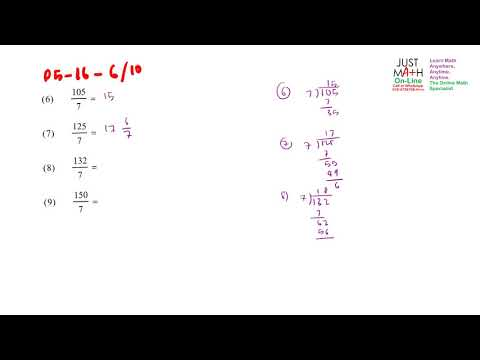 p5-16-4-6to10 Rewriting Improper Fraction to Proper Fraction | Math Online Penang Malaysia