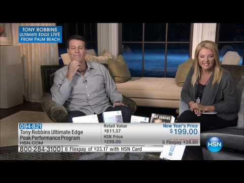 HSN | Tony Robbins Ultimate Edge Live from Palm Beach 01.14.