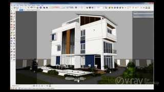V-Ray for SketchUp - Dome Light - Spanish
