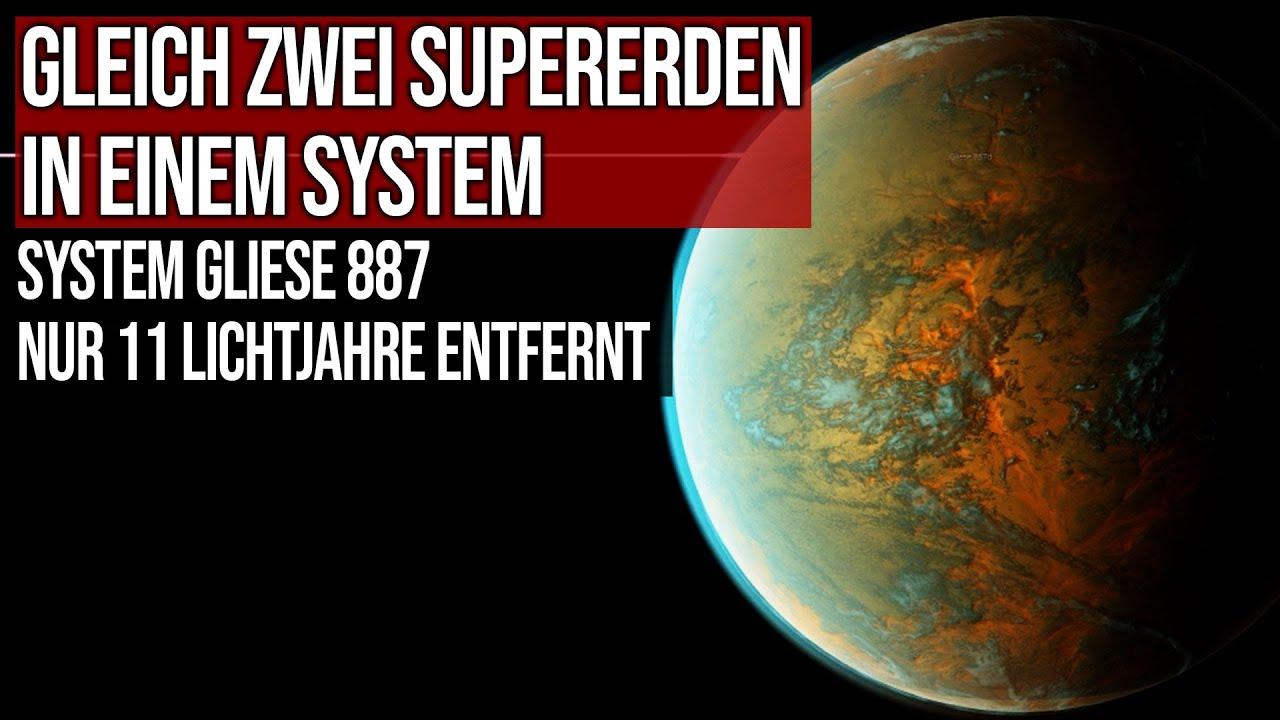 Gleich zwei Supererden in einem System entdeckt - Gliese 887 - Nur 11 Lichtjahre entfernt