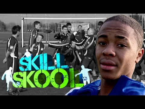 Raheem Sterling on Soccer AM Classic Skill Skool (from 2010)