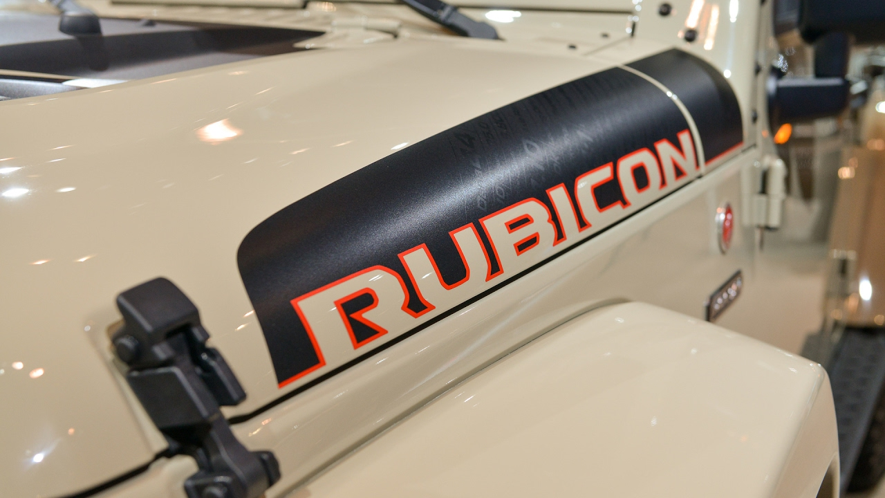 Jeep Wrangler Rubicon Recon - Chicago Auto Show 2017  Авто Новости