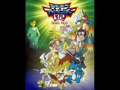 Digimon 02 Opening Theme Song (Japanese)