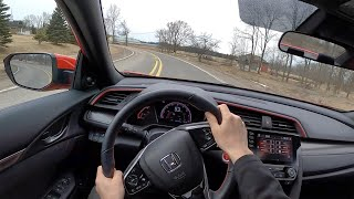 2020 Honda Civic Si Sedan - POV Driving Impressions