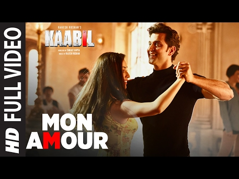 Mon Amour Song (Full Video) | Kaabil | Hrithik Roshan, Yami