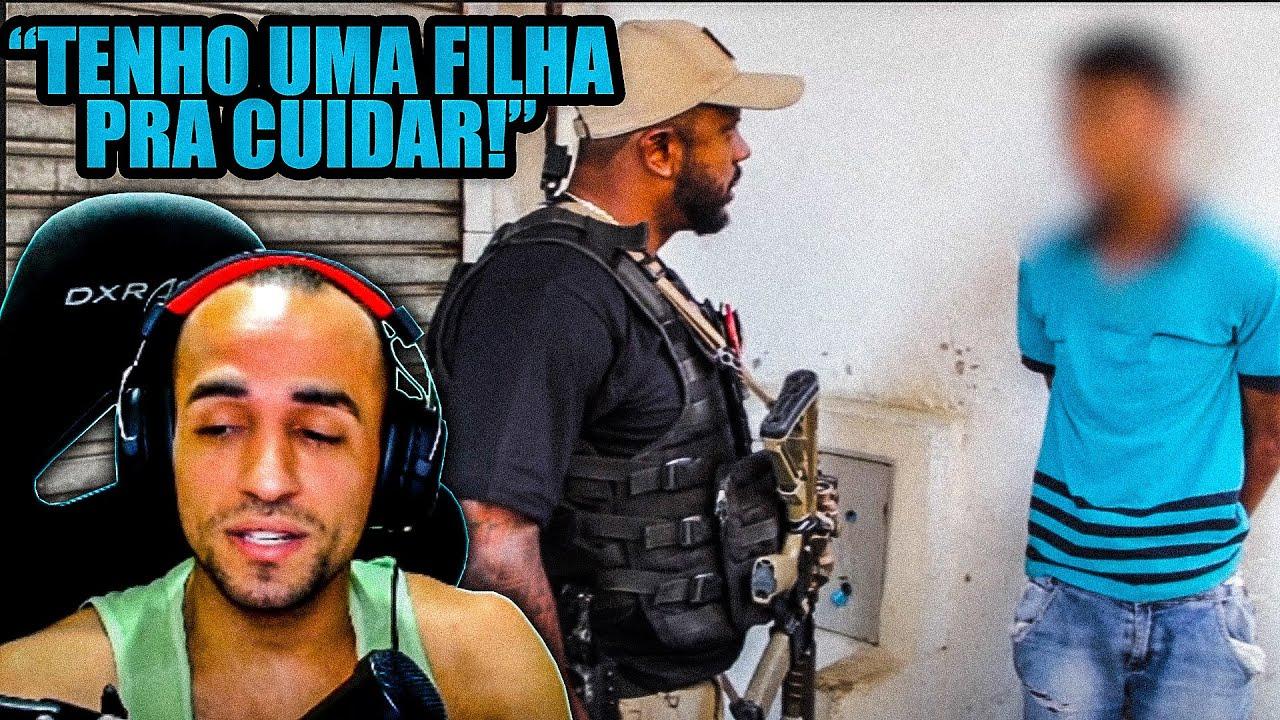 Reagindo a COMBATE AO TRÁFICO NA 9 DE JULHO por Delegado da Cunha