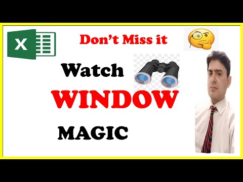 Properly use watch window in excel, Excel mai watch window kya hai