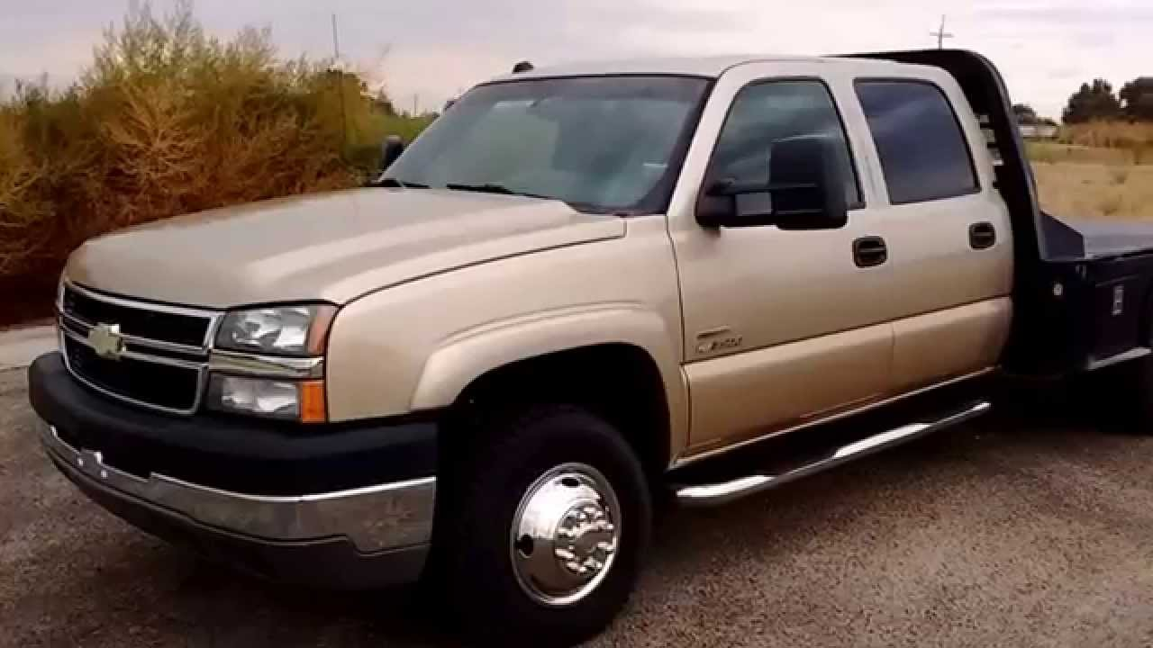 2003 chevrolet silverado 3500 _ 4x4 duramax flatbed _ stock 0446 youtube