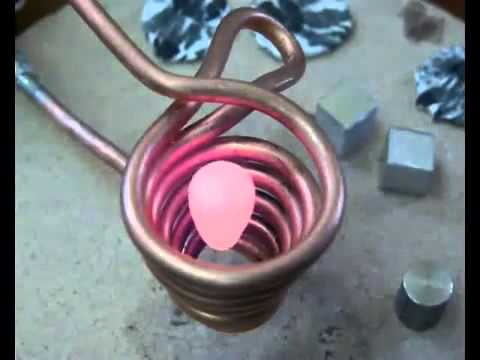HQ Melting Aluminuim w/ ElectroMagnetic Cylinder HQ