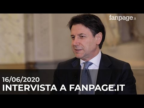 Intervista del Presidente Conte a Fanpage.it
