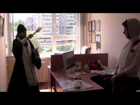 Архиепископ Тобольский и Тюменский Димитрий освящает редакцию