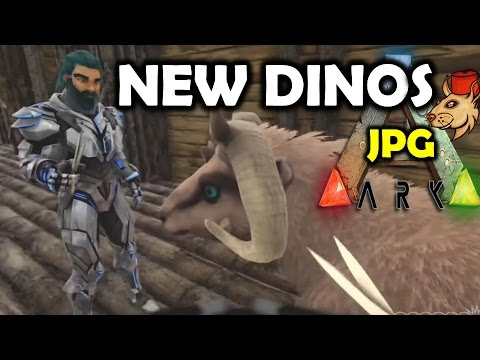 ARK NEW DINOS GAMESPOT GAME PLAY REACTION