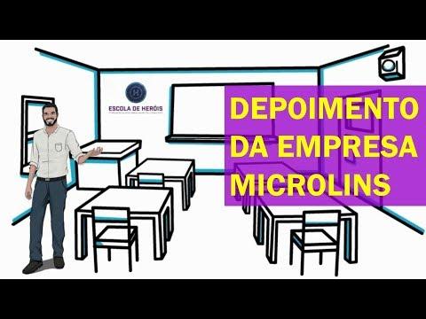 Palestra Motivacional Na Empresa Microlins Com O Coach Diogo Hudson Da Escola De Heróis Treinamentos
