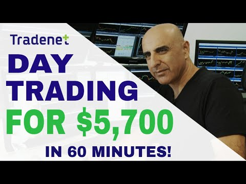 Live Day Trading for $5,700 in Profits