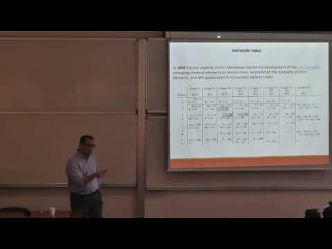 Koç Üniversitesi - Uğur Ünal - Periyodik Tablonun Sistematiği ve Fotokatalizörler