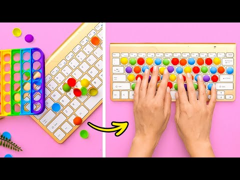 POP IT! 20 OF THE BEST LIFE HACKS || EASY CRAFTS YOU CAN MAKE