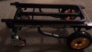 Rock 'n' Roller Multi-Cart R6RT; Assembly & 8 Positions