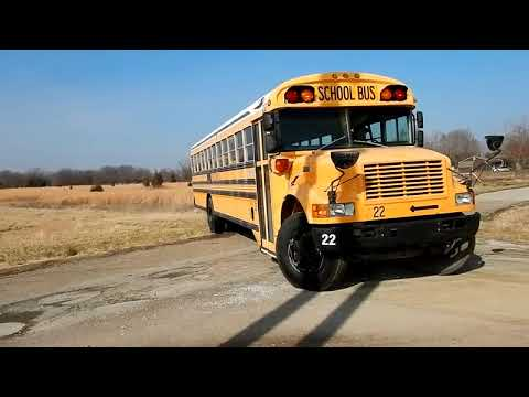 1997 International 3800 school bus for sale at auction | bidding closes  February 13, 2019