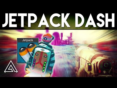 No Man's Sky | How to Move Super Fast with Jetpack Dash!