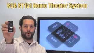 RCA RT151 Home Theater System Remote Control  - www.ReplacementRemotes.com