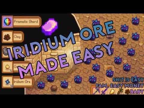 Stardew Valley - 400 iridium ore in 20 minutes