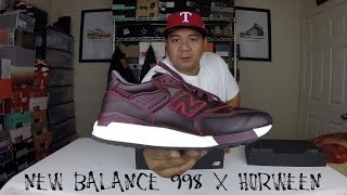 New Balance 998 x Horween  Review + On Feet