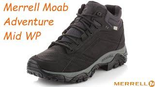 Обзор ботинок Merrell Moab Adventure Mid Waterproof