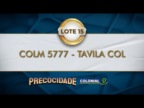 LOTE 15   COLM 5777
