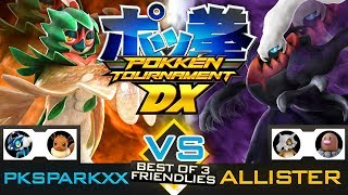 Pokken Tournament DX - Decidueye vs Darkrai (PKSparkxx vs Allister) (Nintendo Switch Gameplay)