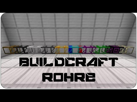 [Tutorial] Buildcraft Pipes / Rohre (Transport, Fluid & Kine