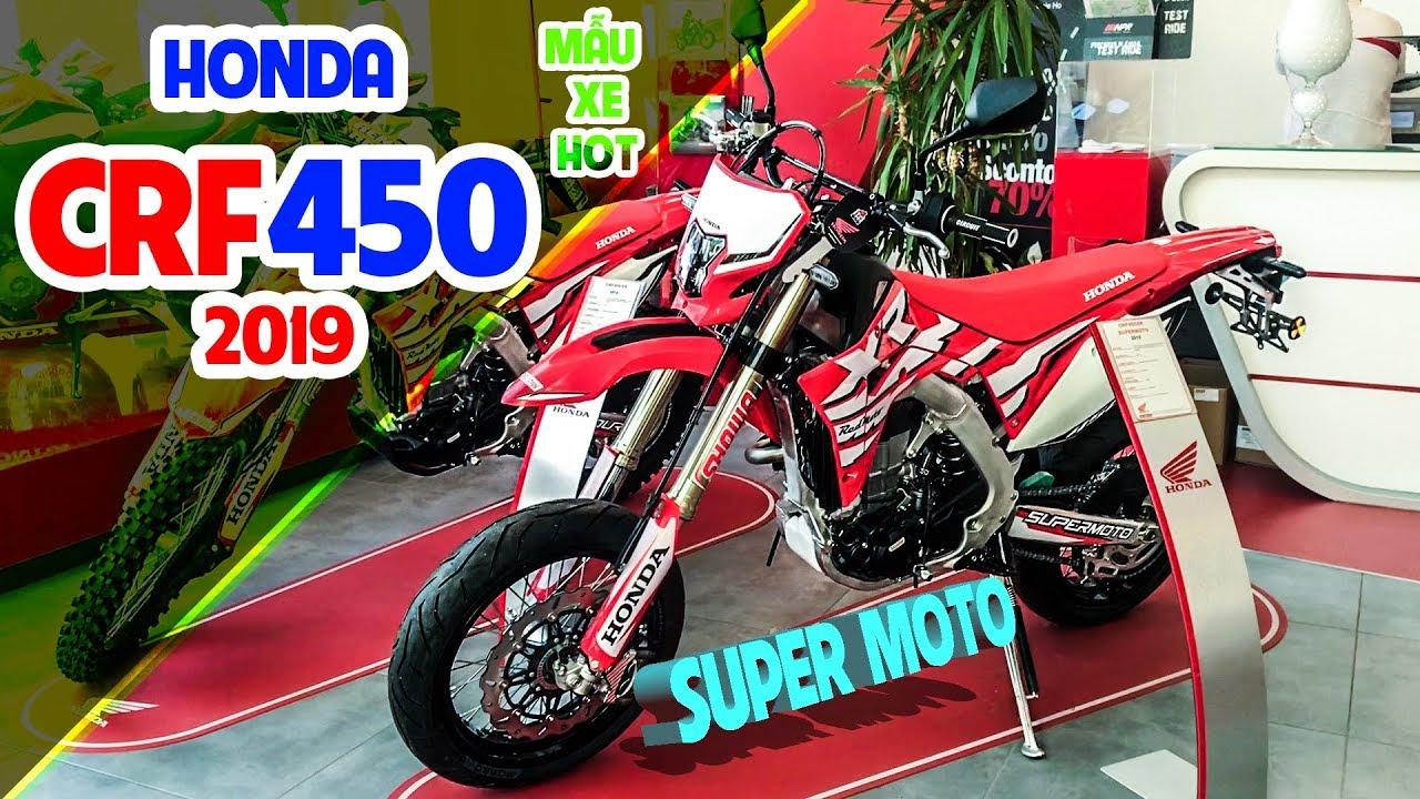 Honda CRF450 supermoto, xe cào cào hot hiện nay   Xemoto